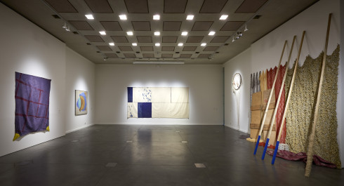 Supports/Surfaces : Viallat & Saytour – Peinture française moderne du MNHA