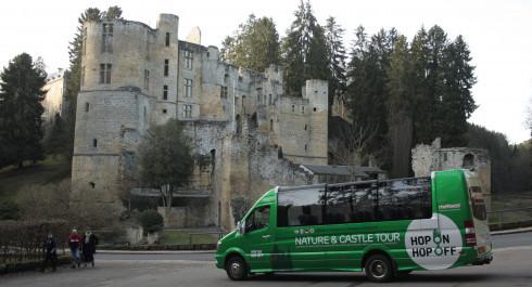 Hop On Hop Off Nature & Castle Tour