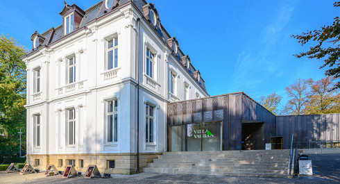 Expositions à la Villa Vauban